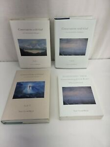 Conversations with God lot 4 books 1 2 3 w Meditations Journal Book 2 Walsch