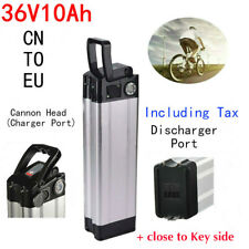 36V 10.4Ah 350W Cannon Head Li-ion E-bike Battery Pack for Electric Bicycle