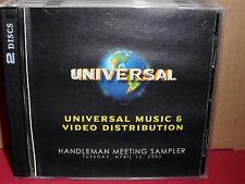 Universal Music Fall 2004 Sampler PROMO CD Elton John HILLARY DUFF Tift Merritt