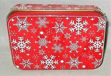 Christmas Gift Card Tin  SNOWFLAKES