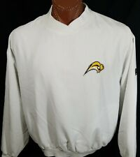 Buffalo Sabres NHL Hockey White Embroidered Pullover Jacket HH Golf L