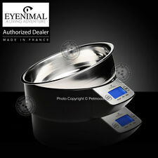 Eyenimal Intelligent Pet Bowl Large Electronic Scale Dog Cat 1.1lbs Food-Liquids
