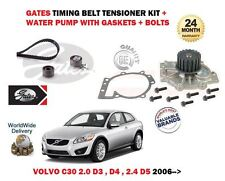 FOR VOLVO C30 2.0 2.4 D3 D4 D5 2006-2012 TIMING CAM BELT & WATER PUMP KIT