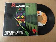"DISQUE 45T  DE  JEAN CHRISTIAN MICHEL   "" REQUIEM """
