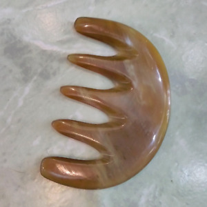 Extra Wide Toothed Comb, Anti Static Buffalo Horn Comb for thick and curly-wavy