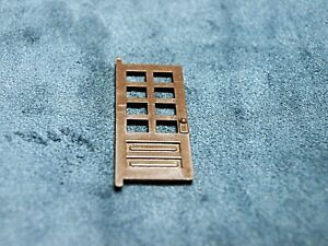 Plasticville  Ranch House Brown Front Door S- O-Scale