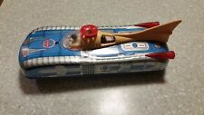 Vintage Hungarian Tin Toy Space Rocket Car Circa 1968, Battery operated,