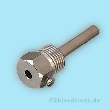 "Tauchhülse für Temperaturfühler - Edelstahl, 50mm, 1/2"""