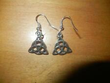 Celtic Knot stering silver earrings