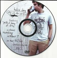 HOWIE DAY Stop all the World Now PROMO RADIO DJ VIDEO DVD 2003 USA