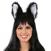 The Great Pretend Ears Costume Headgear Headband Black Cat Panther Fun Dress Hat