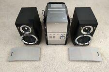 Panasonic Sa-Pm29 Micro Stereo System 5 Disc Cd Cassette Am/Fm Tuner