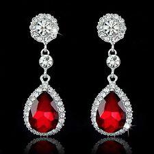 Caliente de lujo pendientes de araña de cristal de las mujeres (OR144/S)