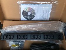 APC Basic Rack AP9565 PDU 16A New In Box Power Distribution Unit With Manual Cd