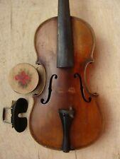 antike schöne Violine - Geige im Holzkoffer