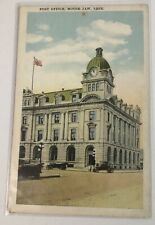 Vintage Postcard Post Office Moose Jaw Sask. Canada