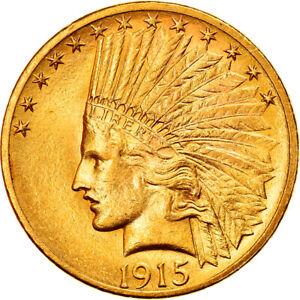 [#840750] Coin, United States, Indian Head, $10, Eagle, 1915, U.S. Mint