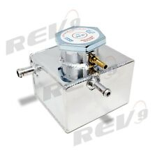 REV9 COOLANT EXPANSION OVERFLOW TANK FOR 02-07 SUBARU WRX EJ20 EJ25 (SMALL)