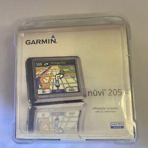 "New Garmin Nüvi 205 4.3"" Navigation GPS Navigator Sealed in Box"