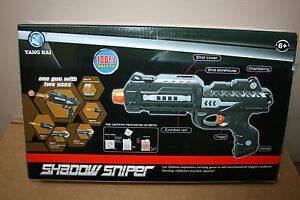 SHADOW SNIPER PLASTIC TOY GUN WITH SOFT BULLETS