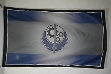 New California Brotherhood Of Steel Gray Advertising Promotional Flag Banner 3X5