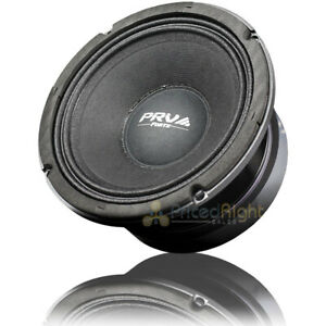 "PRV Audio 6"" Mid Bass Loudspeaker 550 Watts Max Car Audio 8 Ohm 6MB550FT Single"