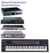 Most Sounds: Roland XV-88, XV-2020, XV-3080, XV-5050, XV-5080