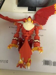 Garudamon Digivolving figure - complete (?) - with card - Digimon
