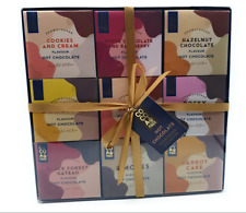 Hot Chocolate Gift Set Collection 7 Assorted Flavoured Mix, Marshmallow Gift Set