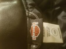 Harley Davidson Toddler Embroidered Black Faux Leather Jacket