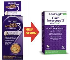 Natrol Carb Intercept 3 - White Kidney 60 Capsules