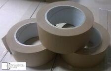 Papierklebeband braun 50 mm x 50 m, 120 µm , Paketband Packband  3 ROLLEN -NEU-