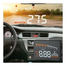 X5 Car Vehicle Hud Head Up Display Obdii Obd2 Speed Warning Projector