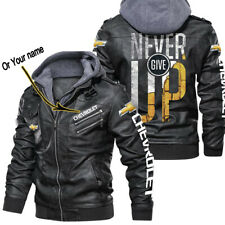 Chevrolet Leather Jacket Perfect Gift