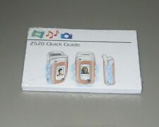 Quick Guide - Z520 Sony Ericsson Cell Flip Phone