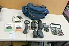 Canon EOS 50D 15.1MP Digital SLR Camera - 2 Lenses 28-135mm 70-300mm Ultrasonic