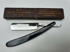 Vintage Sheffield Straight Razor 6/8th with original Box. J.Nowill Special razor