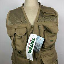 NWT Tritek Seyhun Air Camera & Travel Desert Beige Vest Size Small Photography