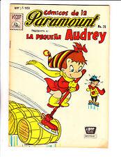 "Comicos De La Paramount No 79 1959 -Spanish Little Audrey- ""Ice Skate Cover !  """