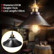 Industrial Iron Retro Fixture Ceiling Pendant Lamp Loft Light Cafe Chandelier US