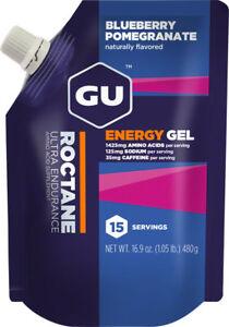 GU Roctane Energy Gel: Blueberry Pomegranate, 15 Serving Pouch