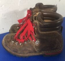 Raichle Vtg Switzerland Mens sz 6 Mountaineering Hiking Trail Boots