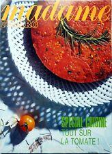 1992: MARLENE DIETRICH (5 p)_Interview BARBARA (3 p)_SPECIAL CUISINE TOMATE