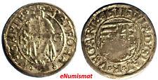 Hungary Wladislaus II Silver (1490-1516) Denar 1511 KG Kremnitz  0,55g