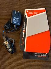 Motorola Bluetooth Handsfree Wireless Headset H500 Mbt500Hs1 Charger/Manual (Bl)