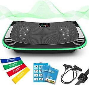 4D Triple Motor Vibration Plate   Powerful   Magnetic Therapy Massage   Curved