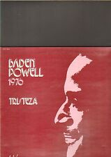 BADEN POWELL - 1976 tristeza LP