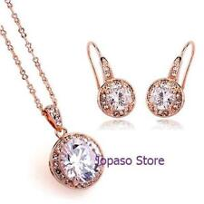 Cubic Zirconia Gold Fashion Jewellery Sets