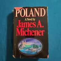 POLAND: JAMES A. MICHENER (1983, Hardcover, Large Type) 1ST EDITION