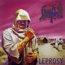 DEATH - Leprosy 2 x LP Clear Colored Vinyl -Relapse Deluxe Edition Classic Metal